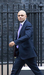 Downing Street, London, December 8th 2015. Business Secretary Sajid Javid arrives at Downing Street as senior cabinet ministers meet during the afternoon. ///FOR LICENCING CONTACT: paul@pauldaveycreative.co.uk TEL:+44 (0) 7966 016 296 or +44 (0) 20 8969 6875. ©2015 Paul R Davey. All rights reserved.