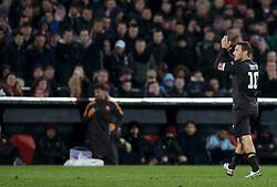 26-02-2015 NED: Europa League Feyenoord - AS Roma, Rotterdam<br /> In the photo Francesco Totti © #10