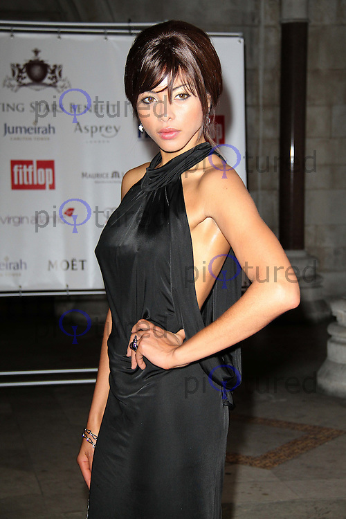 Ana Araujo FitFlop Shooting Stars Benefit closing ball, The Royal Courts of Justice, Strand, London, UK, 05 August 2011:  Contact: Rich@Piqtured.com +44(0)7941 079620 (Picture by Richard Goldschmidt)