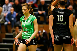 20150211 NED: Eredivisie, Sliedrecht Sport - Coolen Alterno, Sliedrecht<br /> Rosita Blomenkamp (1) of Coolen Alterno<br /> ©2015-FotoHoogendoorn.nl / Pim Waslander