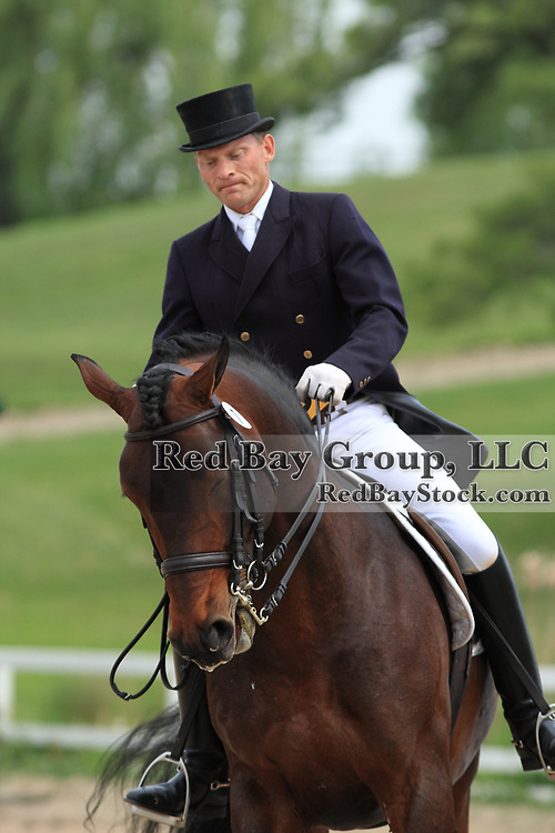 Tom Dvorak and Steeped In Luck at the 2010 Equivents Spring Classic in Milton, Ontario.