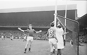 All Ireland Minor Gaelic Football Final Mayo v. Down in Croke Park on the 25th September 1966.