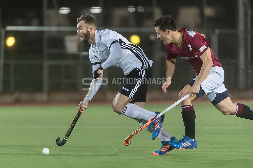 Richmond v Southgate - East Conference Men's Hockey League, The Quinton Hogg Memorial Ground, London, UK on 10 February 2018. Photo: Simon Parker