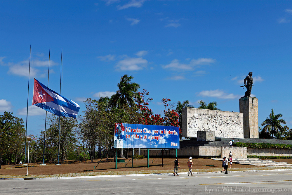 Central America, Cuba, Santa Clara. Che Guevara Memorial and Museum.