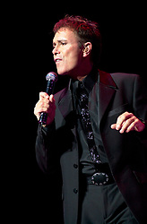 Cliff Richard in concert Hallam FM Arena Sheffield first of three nights Wanted tour 8 November 2002<br />
