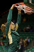 WACO, TX - DECEMBER 12:  Brittney Griner #42 of the Baylor University Bears dunks the ball during warmups before tipoff against the Oral Roberts University Golden Eagles on November 13, 2012 at the Ferrell Center in Waco, Texas.  (Photo by Cooper Neill/Getty Images) *** Local Caption *** Brittney Griner
