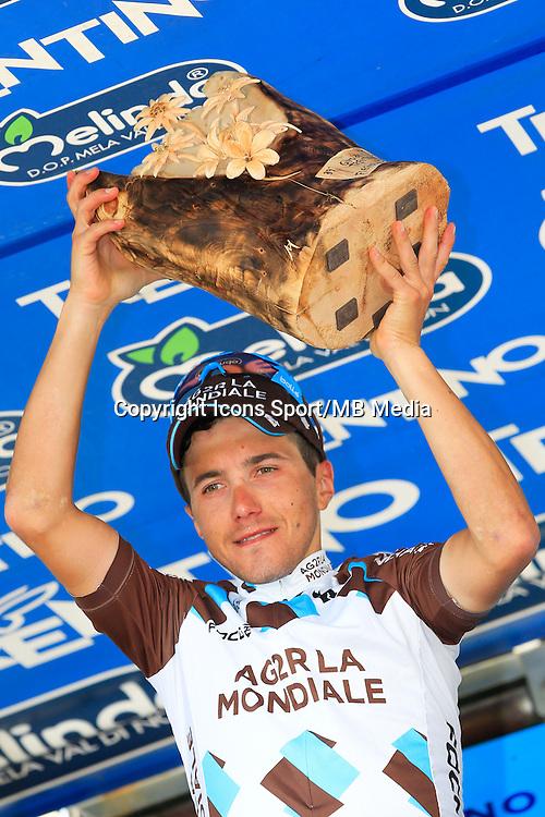 Victoire Domenico Pozzovivo - AG2R - 23.04.2015 - Tour du Trentin - Etape 03<br /> Photo : Pierre Teyssot / Icon Sport