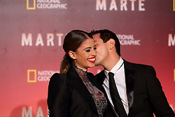 November 8, 2016 - Roma, RM, Italy - Italian actress Chiara Nasti with her boyfriend during Red Carpet of the premier of Mars, the largest production ever made by National Geographic  (Credit Image: © Matteo Nardone/Pacific Press via ZUMA Wire)