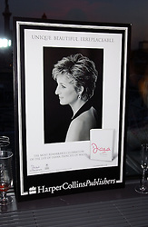 at a party to celebrate the UK launch of Diana:The Portrait, the authorised book about the late Princess Of Wales's life and work, held at the National Portrait Gallery, London on 1st September 2004.  The book was commissioned by The Diana, Princess of Wales Memorial Fund and writen by Ros Coward.