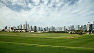View of The Academy practice driving range at The Address Montgomerie Golf Club, Dubai, United Arab Emirates.  27/01/2016. Picture: Golffile | David Lloyd<br /> <br /> All photos usage must carry mandatory copyright credit (© Golffile | David Lloyd)