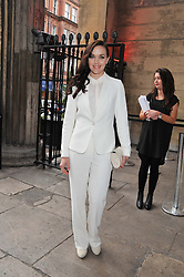 VICTORIA PENDLETON at the NatWest UK Fashion & Textile Awards in aid of Save The Children held at 1 Mayfair, London on 23rd May 2013.