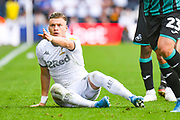 Leeds United defender Ezgjan Alioski (10) reacts during the EFL Sky Bet Championship match between Leeds United and Swansea City at Elland Road, Leeds, England on 31 August 2019.