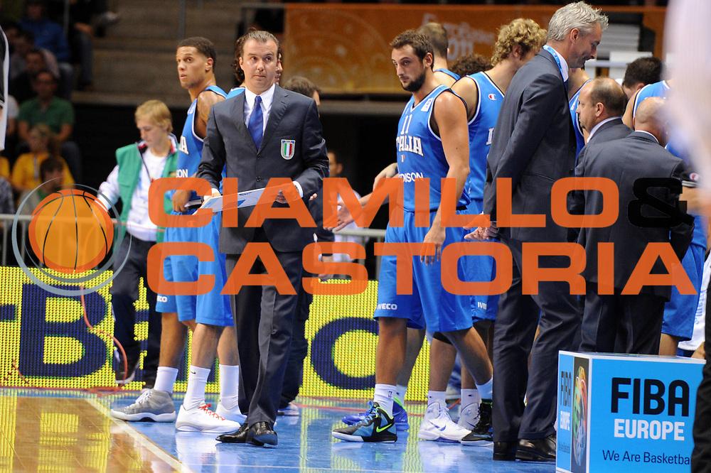 DESCRIZIONE : Siauliai Lithuania Lituania Eurobasket Men 2011 Preliminary Round Serbia Italia Serbia Italy<br /> GIOCATORE : Simone Pianigiani Coach<br /> SQUADRA : Italia Italy<br /> EVENTO : Eurobasket Men 2011<br /> GARA : Serbia Italia Serbia Italy<br /> DATA : 31/08/2011 <br /> CATEGORIA : ritratto<br /> SPORT : Pallacanestro <br /> AUTORE : Agenzia Ciamillo-Castoria/GiulioCiamillo<br /> Galleria : Eurobasket Men 2011 <br /> Fotonotizia : Siauliai Lithuania Lituania Eurobasket Men 2011 Preliminary Round Serbia Italia Serbia Italy<br /> Predefinita :