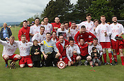 AC Harleys celebrate after winning the 1st Division  - Dundee Saturday Morning FA - Super Saturday at Dundee UNI<br /> <br />  - &copy; David Young - www.davidyoungphoto.co.uk - email: davidyoungphoto@gmail.com