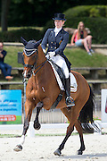 Alexa Fairchild - Timor<br /> FEI European Dressage Championships for Young Riders and Juniors 2013<br /> © DigiShots