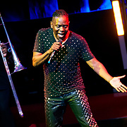 September 25, 2013 - New York, NY: Philip Bailey of the band Earth, Wind & Fire performs at the Beacon Theatre in Manhattan on Wednesday night.<br /> CREDIT: Karsten Moran for The New York Times