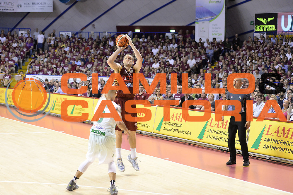 Bramos Michael<br /> Umana Reyer Venezia - Sidigas Avellino<br /> Lega Basket Serie A 2016/2017<br /> Palyoff Semifinale Gara 1<br /> Venezia 26/05/2017<br /> Foto Ciamillo-Castoria