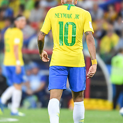 Neymar Jr of Brazil during the FIFA World Cup Group E match between Serbia and Brazil on June 27, 2018 in Moscow, Russia. (Photo by Anthony Dibon/Icon Sport)