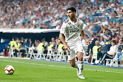 September 22, 2018 - Marco Asensio of Real Madrid during the La Liga (Spanish Championship) football match between Real Madrid and RCD Espanyol on September 22th, 2018 at Santiago Bernabeu stadium in Madrid, Spain. (Credit Image: © AFP7 via ZUMA Wire)
