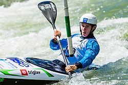 Martin Srabotnik during Kayak Single (K1) Men race of Tacen Cup 2020 on May 24, 2020 in Tacen, Ljubljana, Slovenia. Photo By Grega Valancic / Sportida