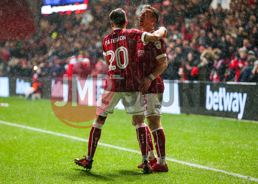 Jamie Paterson of Bristol City celebrates scoring a goal to make it 1-0 - Rogan/JMP - 26/12/2017 - Ashton Gate Stadium - Bristol, England - Bristol City v Reading - Sky Bet Championship.