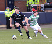 Dundee's Stephen McGinn and Celtic&rsquo;s Celtic&rsquo;s Anthony Stokes - Dundee v Celtic, William Hill Scottish Cup fifth round at Dens Park <br /> <br /> <br />  - &copy; David Young - www.davidyoungphoto.co.uk - email: davidyoungphoto@gmail.com