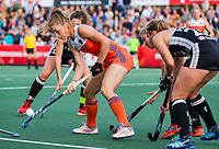 AMSTELVEEN - Laura Nunnink (Ned)  tijdens de halve finale  Nederland-Duitsland van de Pro League hockeywedstrijd dames. COPYRIGHT KOEN SUYK