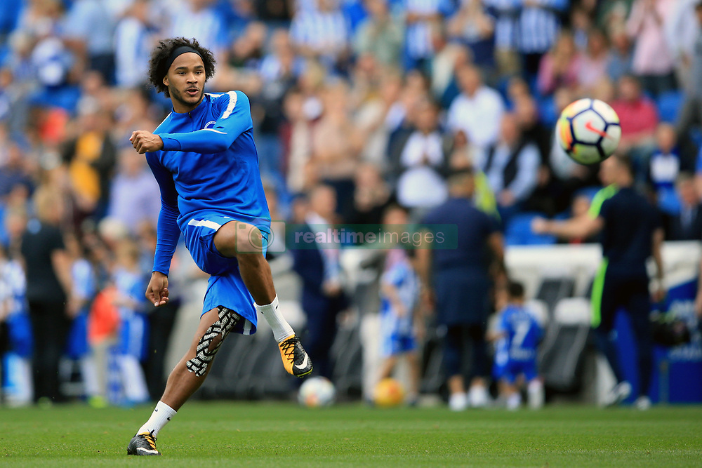 24 September 2017 -  Premier League - Brighton v Newcastle United - Izzy Brown of Brighton and Hove Albion - Photo: Marc Atkins/Offside