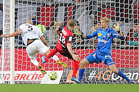 Goal Ala Eddine YAHIA - 03.12.2014 - Guingamp / Caen - 16eme journee de Ligue 1 <br />