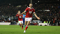 Ben Brereton is the hero as his penalty puts Forest 3-1 ahead  during The Emirates FA Cup Third Round match between Nottingham Forest and Arsenal at City Ground on January 7, 2018 in Nottingham, England.