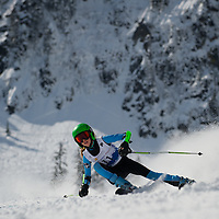 Girls GS 2nd run - Cascade Cup 2013