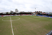 Stadium shot before the Sky Bet League 2 match between AFC Wimbledon and Accrington Stanley at the Cherry Red Records Stadium, Kingston, England on 5 March 2016. Photo by Stuart Butcher.