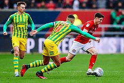 Callum O'Dowda of Bristol City is challenged by Jake Livermore of West Brom - Rogan/JMP - 22/02/2020 - Ashton Gate Stadium - Bristol, England - Bristol City v West Bromwich Albion - Sky Bet Championship.