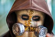 11 MAY 2014 - BANGKOK, THAILAND: A cosplay (Costume Play) performer at Thailand Comic Con at Siam Paragon Mall in Bangkok.    PHOTO BY JACK KURTZ
