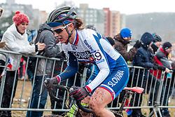 Livia Hanesova (SVK), Women Elite, Cyclo-cross World Championships Tabor, Czech Republic, 31 January 2015, Photo by Pim Nijland / PelotonPhotos.com