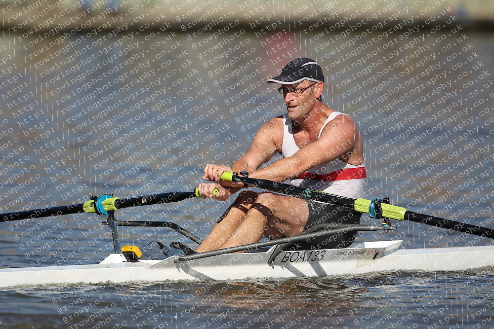 29.09.2012. Wallingford Long Distance Sculls 2012, The River Thames. Division 1. MasC 1x. Bradford on Avon Rowing Club.