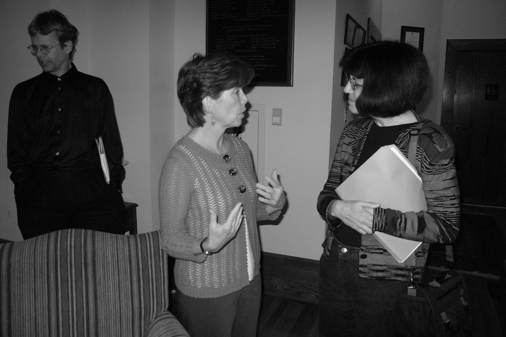 William Logan, Barbara Prunty, and Debora Greger.