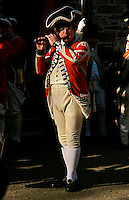 Revolutionary War Re-enactments in Trenton New Jersey.