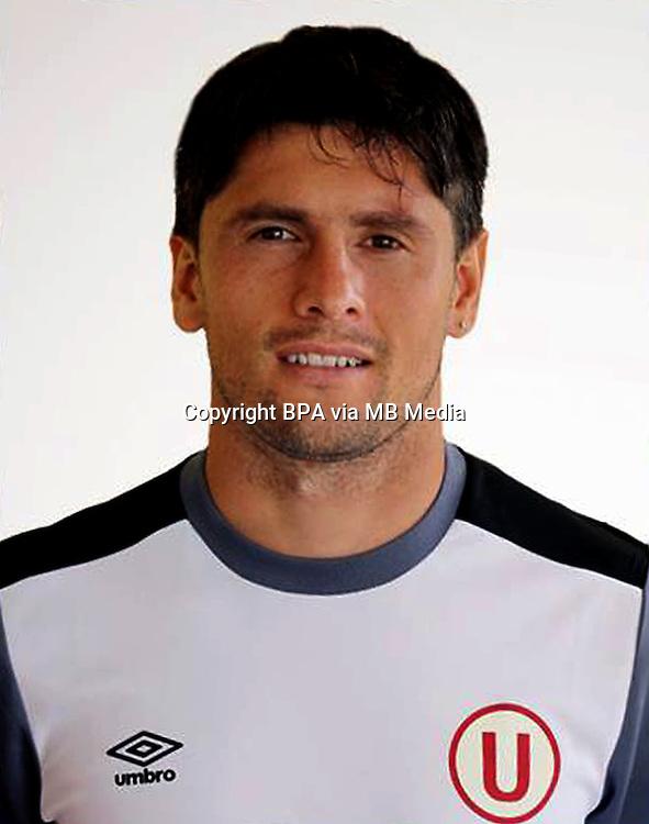 Football - Peruvian League Descentralizado - <br /> Movistar Trophy 2016 - Abertura Tournament / <br /> Club Universitario De Deportes Lima - <br /> Diego Manicero