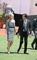 Actress Nicole Kidman and actor Clive Owen arriving to the Heminway & Gellhorn photocall at the 65th Cannes Film Festival France. Friday 25th May 2012 in Cannes Film Festival, France.