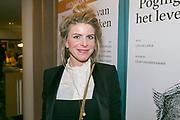 2017-12-12. Stadsschouwburg Utrecht. Premiere van het toneelstuk Hendrik Groen. Op de foto Rosa Reuten