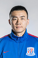 **EXCLUSIVE**Portrait of Chinese soccer player Li Peng of Shanghai Greenland Shenhua F.C. for the 2018 Chinese Football Association Super League, in Shanghai, China, 2 February 2018.
