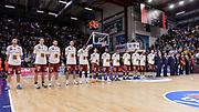DESCRIZIONE : Campionato 2015/16 Serie A Beko Dinamo Banco di Sardegna Sassari - Umana Reyer Venezia<br /> GIOCATORE : Team Umana Reyer Venezia<br /> CATEGORIA : Before Pregame<br /> SQUADRA : Umana Reyer Venezia<br /> EVENTO : LegaBasket Serie A Beko 2015/2016<br /> GARA : Dinamo Banco di Sardegna Sassari - Umana Reyer Venezia<br /> DATA : 01/11/2015<br /> SPORT : Pallacanestro <br /> AUTORE : Agenzia Ciamillo-Castoria/L.Canu