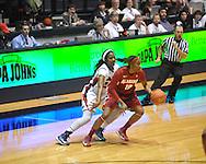 Ole Miss vs. Alabama in NCAA women's basketball action in Oxford, Miss. on Sunday, January 13, 2013.  Alabama won 83-75.