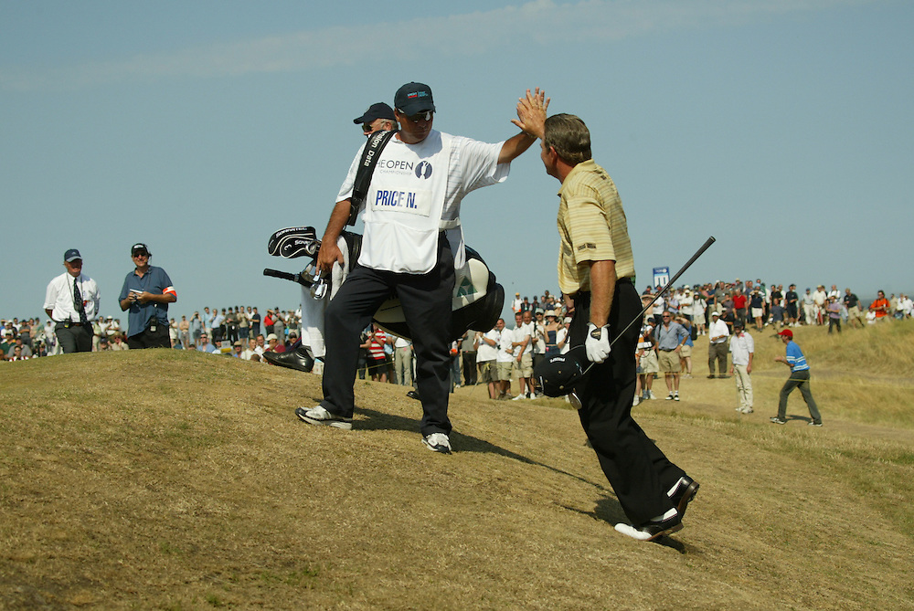 Nick Price..2003 British Open..Third Round..Royal St. George's Golf Club..Sandwich, Kent, England..Saturday, July 19  2003..photograph by Darren Carroll