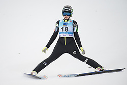February 8, 2019 - Jerneja Brecl of Slovenia on first competition day of the FIS Ski Jumping World Cup Ladies Ljubno on February 8, 2019 in Ljubno, Slovenia. (Credit Image: © Rok Rakun/Pacific Press via ZUMA Wire)