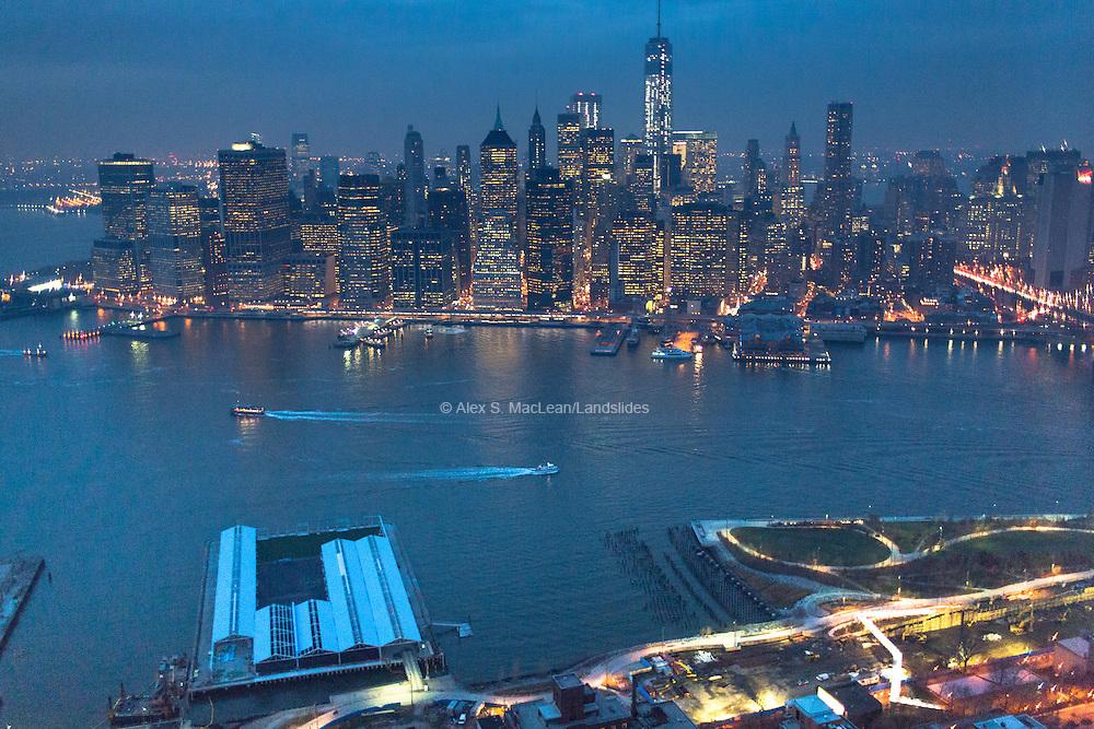 Brooklyn Bridge/NYC at Night<br /> 12/2013