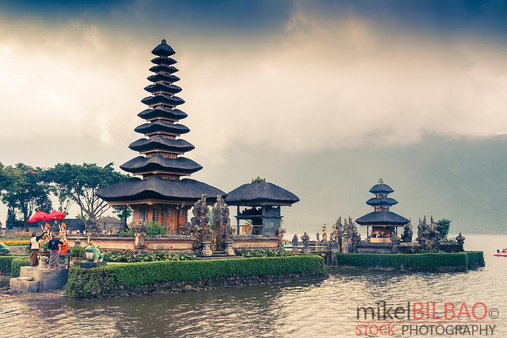 Pura Ulun Danu Bratan. Lake Bratan.  Bali. Indonesia, Asia.
