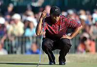 Tiger Woods (USA) The Open Golf Championship, Royal St.Georges, Sandwich, Day 4, 20/07/2003. Credit: Colorsport / Matthew Impey DIGITAL FILE ONLY