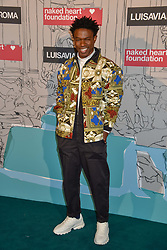 Kelly Osasere at the Fabulous Fund Fair in aid of Natalia Vodianova's Naked Heart Foundation in association with Luisaviaroma held at The Round House, Camden, London England. 18 February 2019.
